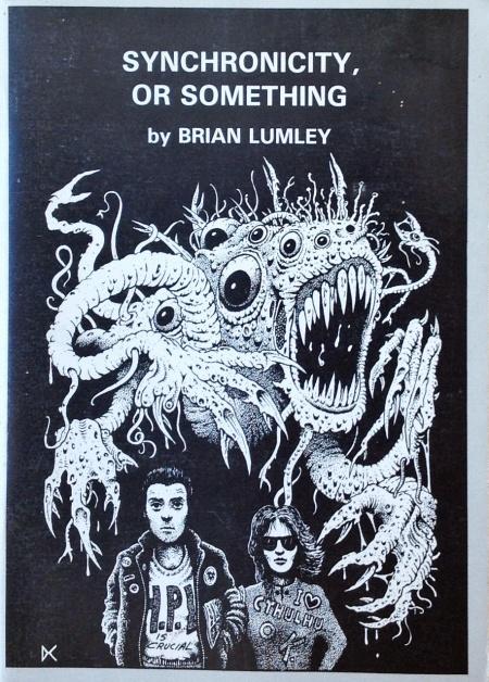 Hæfte, Dagon Press 1988. Forsiden er tegnet af Dave Carson - en flittig bidragyder til de små, engelske genrepublikationer fra 1980'erne