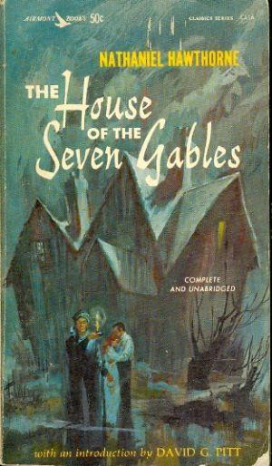 Paperback, Airmont Books 1960. Bemærk den herligt nygotiske 60'er-forside - for naturligvis blev Hawthorne en del af den store gotiske bølge i 60'erne