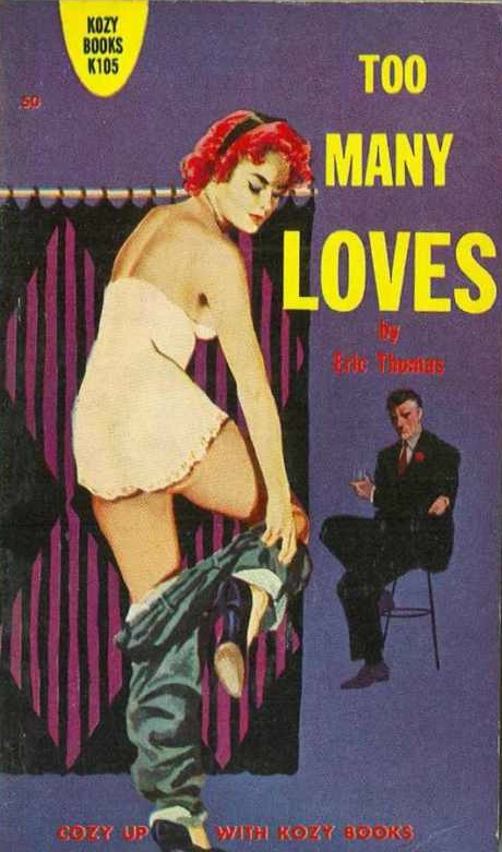 Paperback, Kozy Books 1960