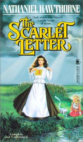 Paperback, Tor Books 1989. Her får I endnu en udgave af The Scarlet Letter - denne gang på 80'er-facon fra Tor Books