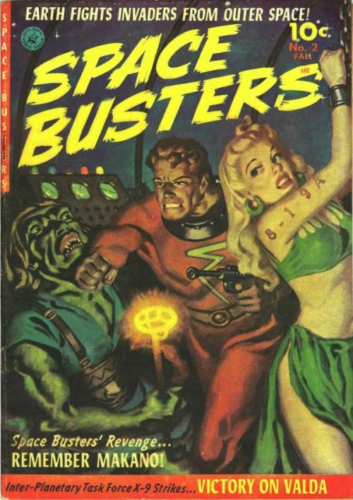 Space Busters, efterår 1952