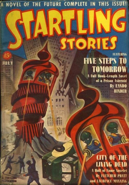 Startling Stories, juli 1940