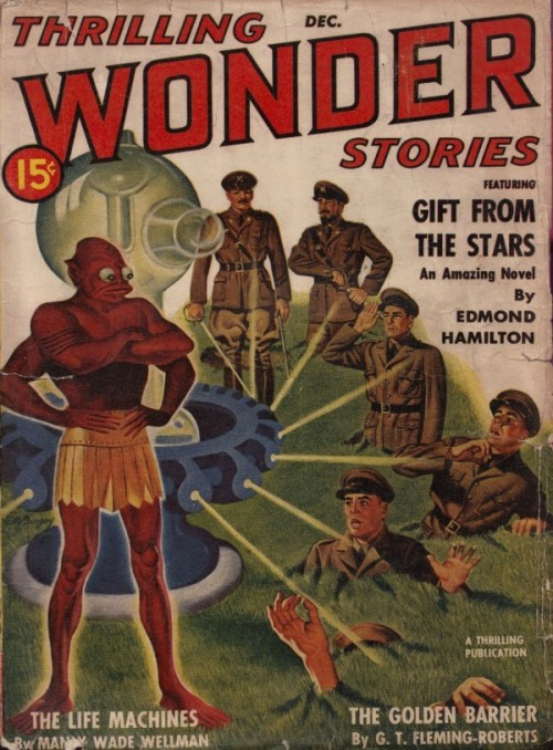 Thrilling Wonder Stories, december 1940