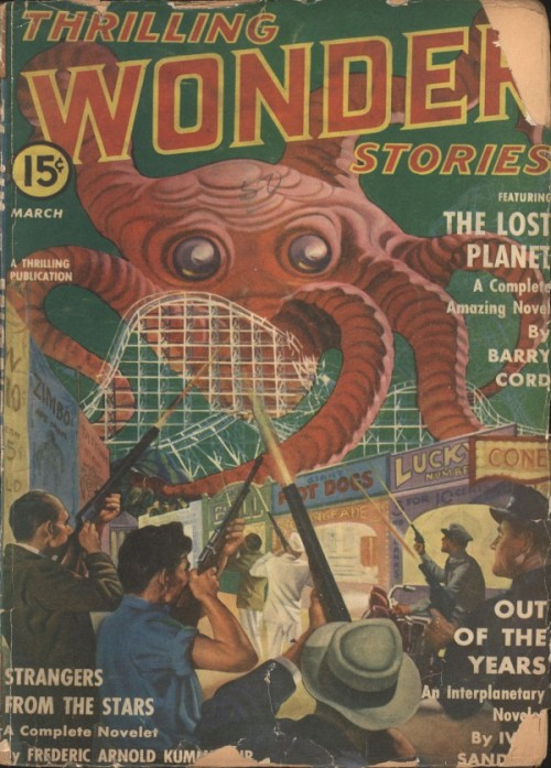 Thrilling Wonder Stories, marts 1941