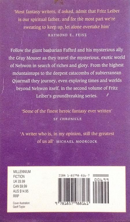 Paperback, Millennium 1996