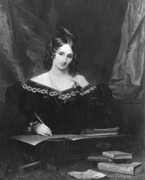 Mary Wollstonecraft Shelley (30. august 1797 – 1. februar 1851)