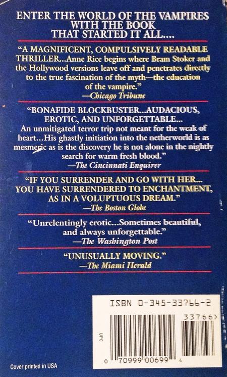 Paperback, Ballantine Books 1993