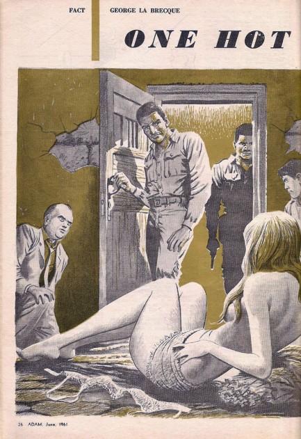 Adam, juni 1961. Fiktion - en pige i nød