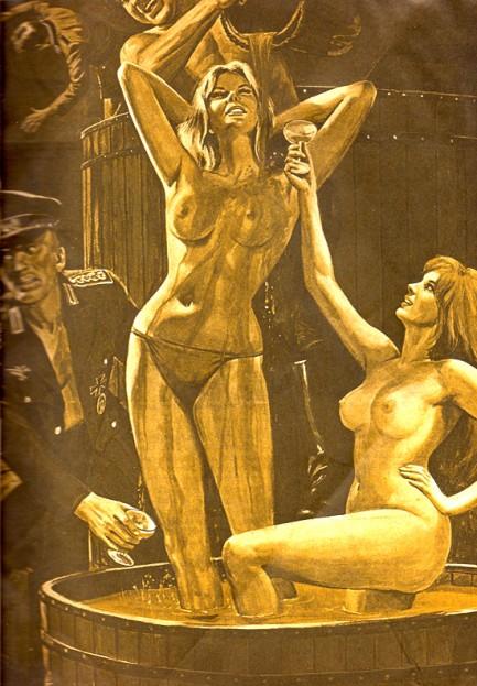 Adam, september 1974. Til pulpet Nazi-fest
