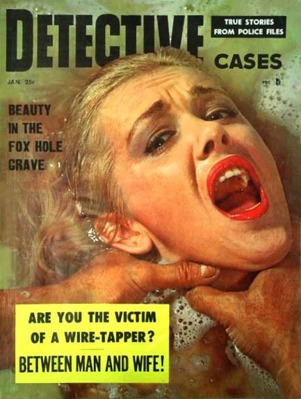 Detective Cases, januar 1956
