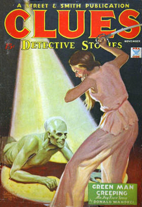 Clues, november 1934