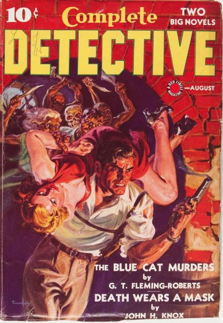 Complete Detective, august 1939