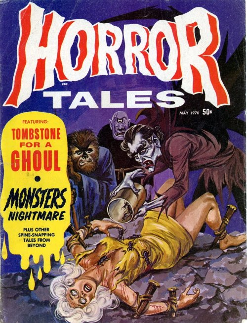 Horror Tales, nr. 12, maj 1970