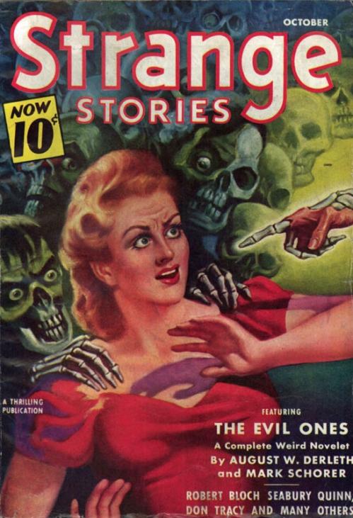 Strange Tales, oktober 1940