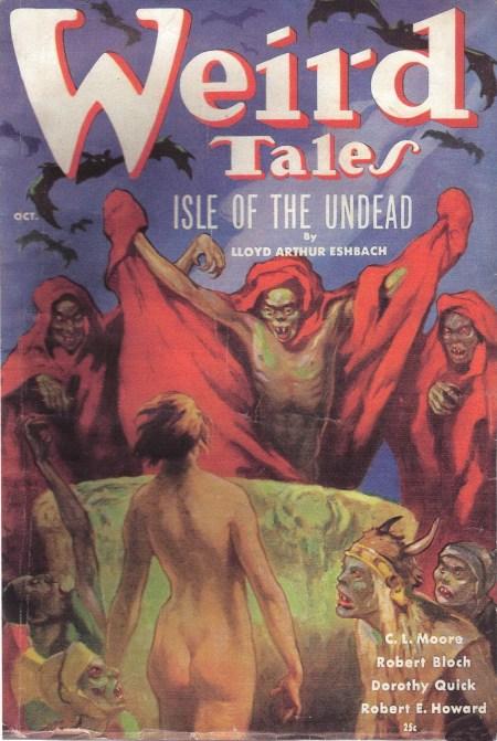 Weird Tales, oktober 1936