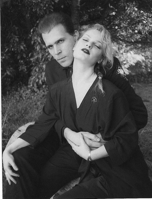 Nikolas Shreck and Zeena - Anton LaVeys dater