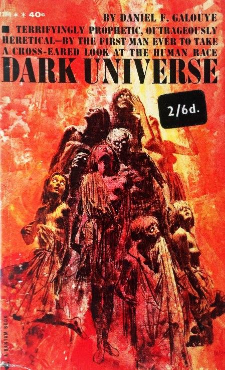 Paperback, Bantam Books 1961. Romanens 1. udg. med en rigtig fin forside af V. A. Hoot