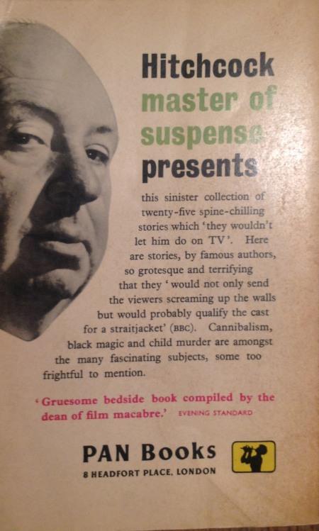 Paperback, Pan Books 1960_bagside