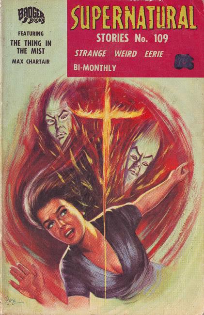 Supernatural Stories, nr. 109 1967. Det sidste nummer der udkom