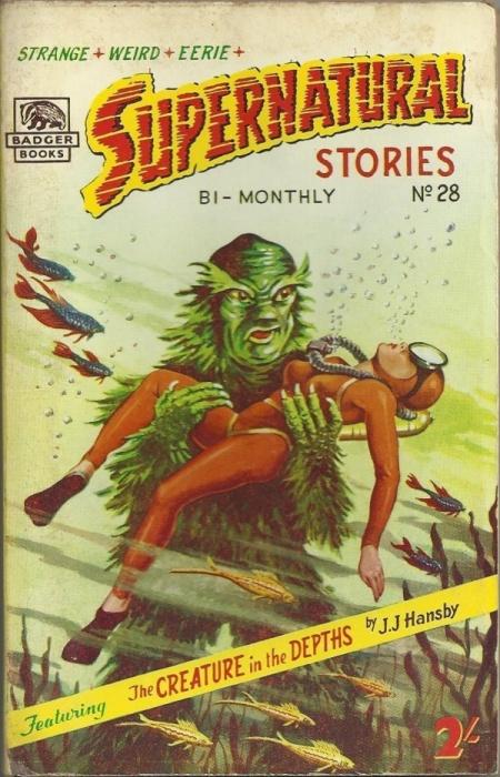 Supernatural Stories, nr. 28 1959