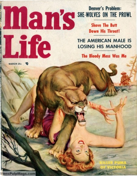Man's Life, marts 1955