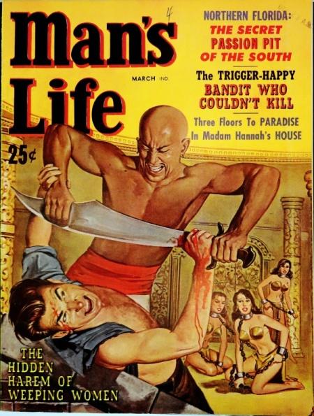 Man's Life, marts 1958