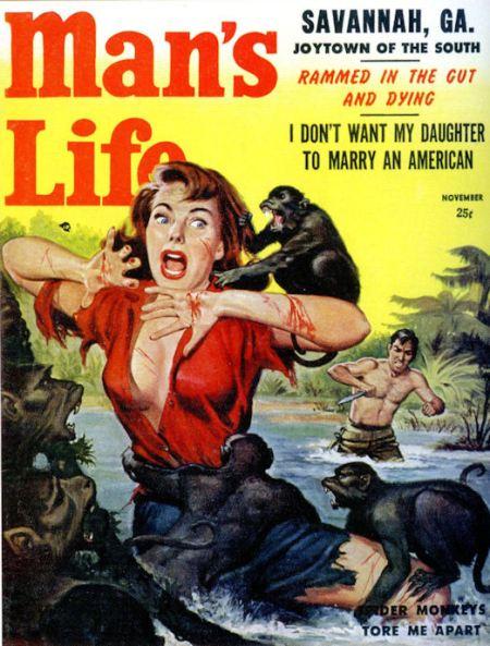 Man's Life, november 1957