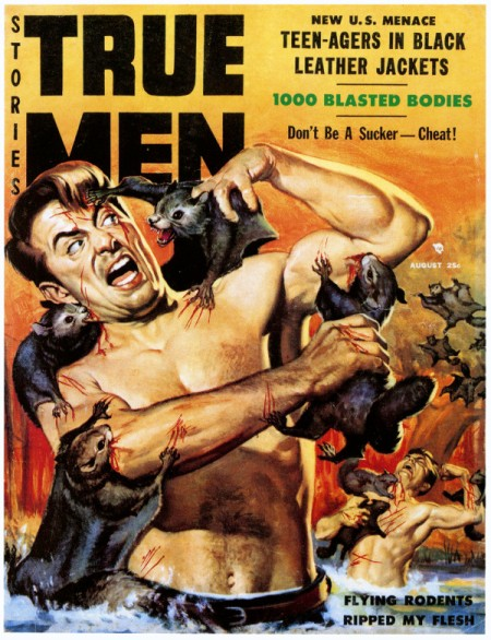 True Men Stories, august 1958