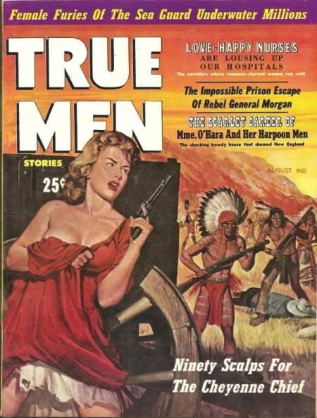 True Men Stories, august 1959