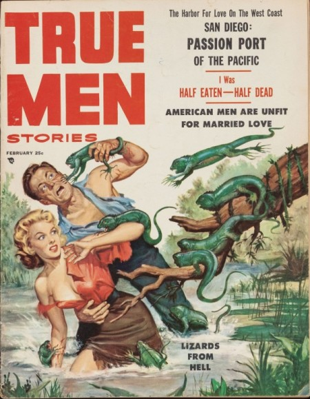 True Men Stories, februar 1957