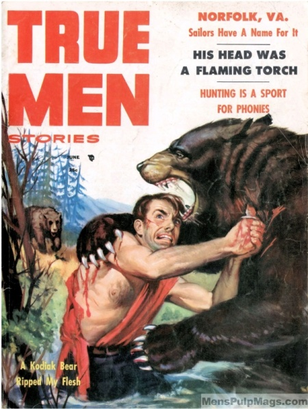 True Men Stories, juni 1956
