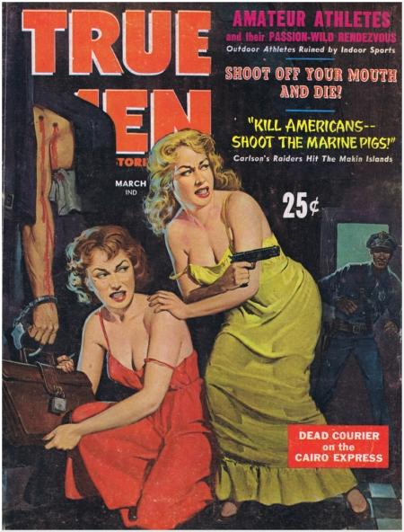 True Men Stories, marts 1956
