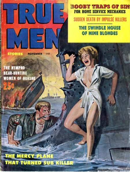 True Men Stories, november 1960