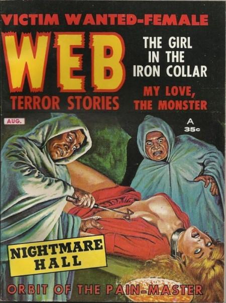 WEB Terror Stories, august 1962