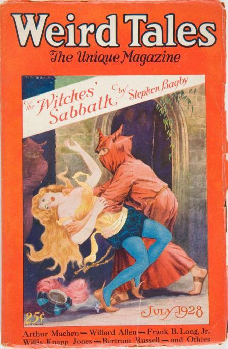 Weird Tales, juli 1928