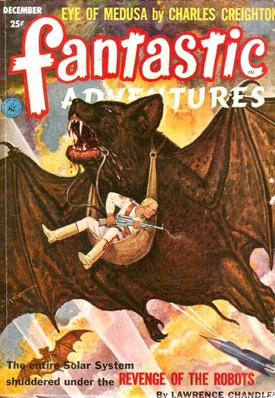 Fantastic Adventures, december 1952