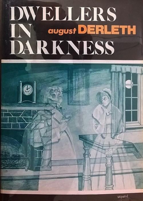 Hardcover, Arkham House 1976. Forsiden er tegnet af Frank Utpatel - forlagets vanlige mand i denne periode