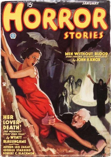 Horror Stories, januar 1935