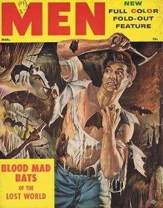 MEN, marts 1955