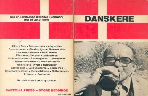Paperback, Castella Press 1979. En anden af Bjarnes bøger. Bemærk kapitlernes titler på bagsiden