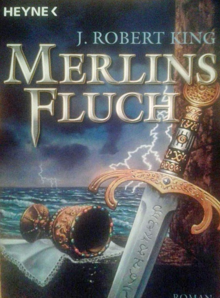 Paperback, Heyne 2005. Mad Merlin på tysk