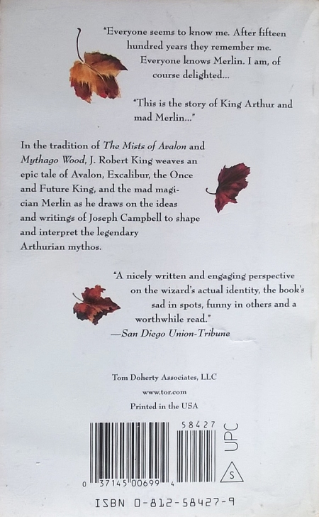 Paperback, Tor Books 2001