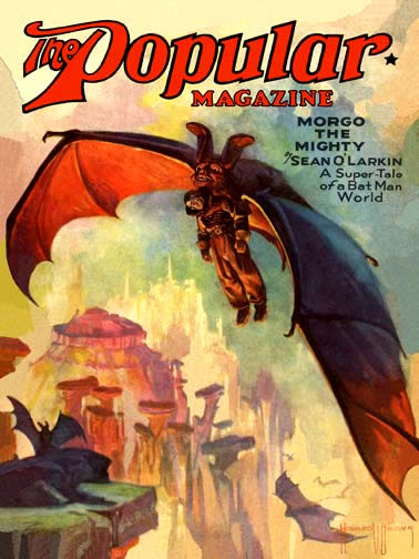 The Popular Magazine, august 1930