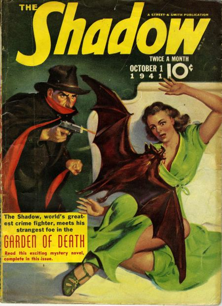 The Shadow, oktober 1941