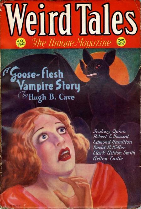 Weird Tales, maj 1932
