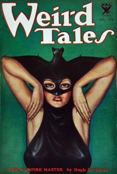 Weird Tales, oktober 1933