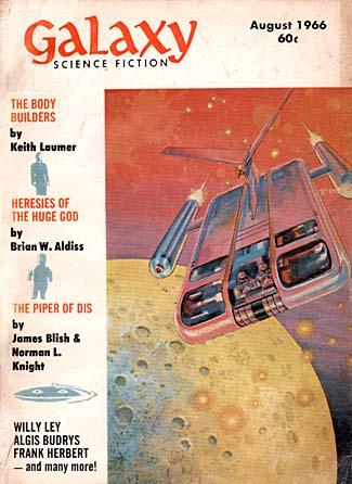 Galaxy, august 1966. Bladet med anden og sidste del af historien