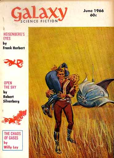 Galaxy, juni 1966. Magasinet hvor første del af historien udkom
