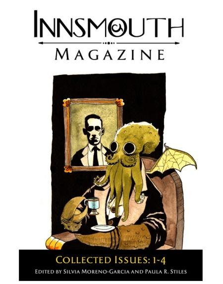 Innsmouth Magazine 1-4. Omnibus-udgivelse med de næstre tre numre. Uheldig fejl på forsiden!