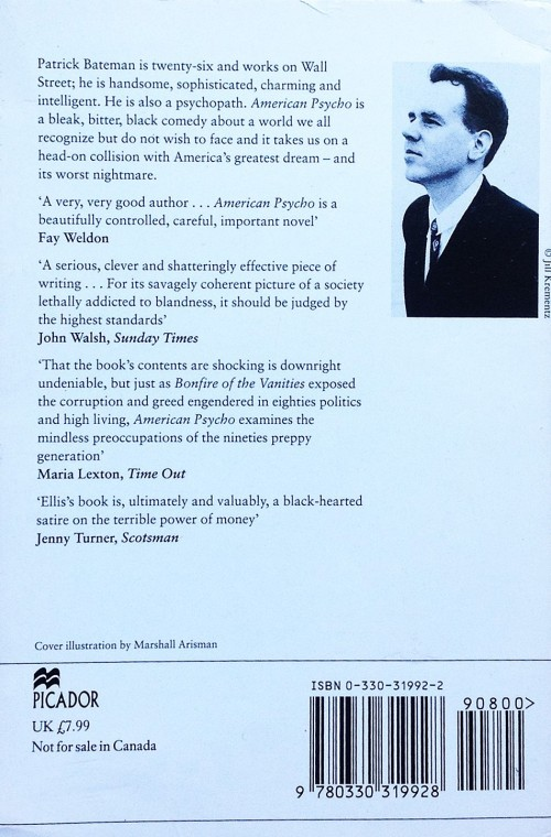 Paperback, Picador 1991